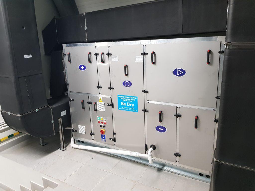 Osuszacz powietrza dla SUW Brzozowa