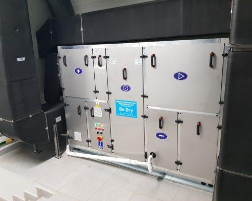 brzozowa 500x400 - Air dehumidifier for SUW Brzozowa, Gościcino