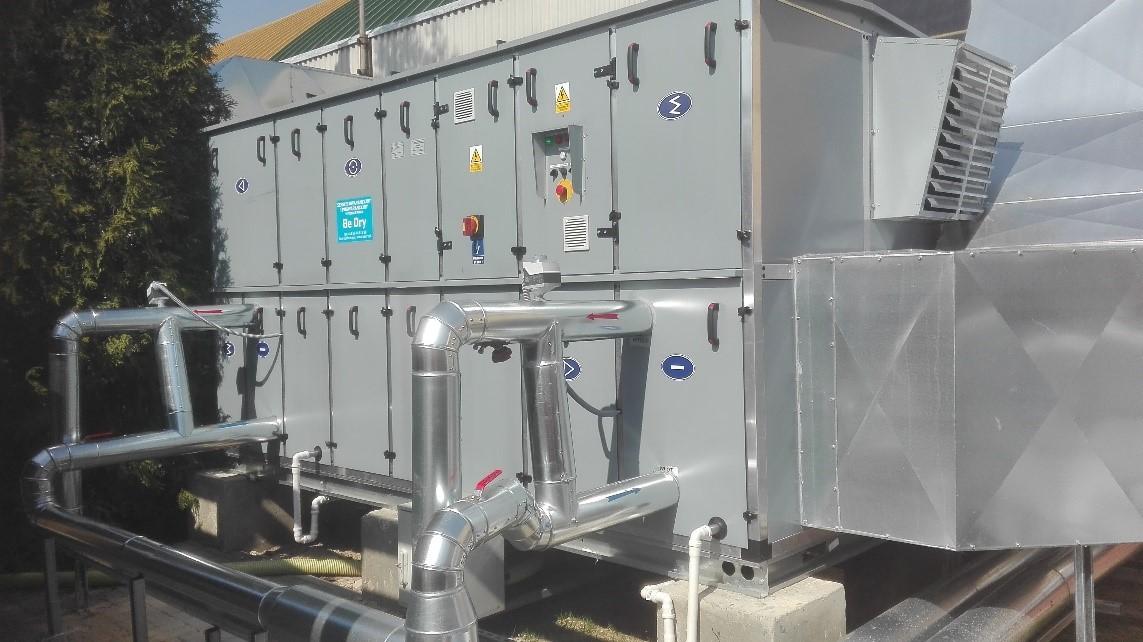 nałeczownianka - Luftentfeuchter für die Wasserproduktionsanlage NAŁĘCZOWIANKA